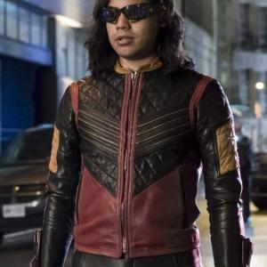 The Flash Vibe Leather Jacket