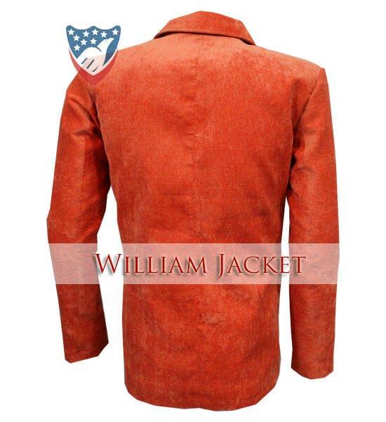 Kingsman-The-Golden-Circle-Orange-Tuxedo-William-Jacket-Back