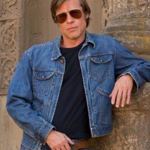 Brad Pitt Jeans Jacket