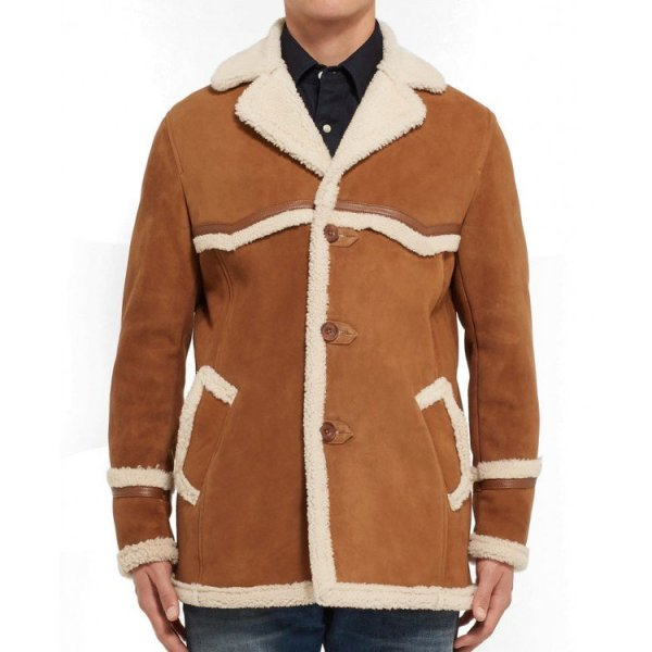 Harry Hart Kingsman Leather Coat