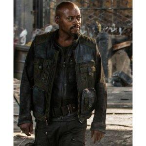 Fraser James Resident Evil Leather Jacket