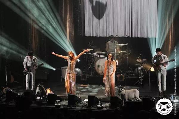 Concert des Brigittes à Nantes