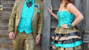 Duc tTape Prom Outfits
