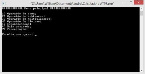 Calculadora-ATPS