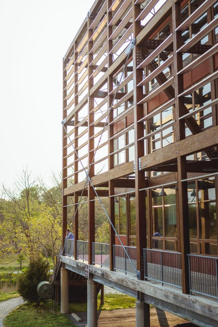 Interesting architecture on the Chesapeake Bay Foundation website