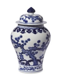Blue & White Swallowtail Ginger Jar | Williams Sonoma
