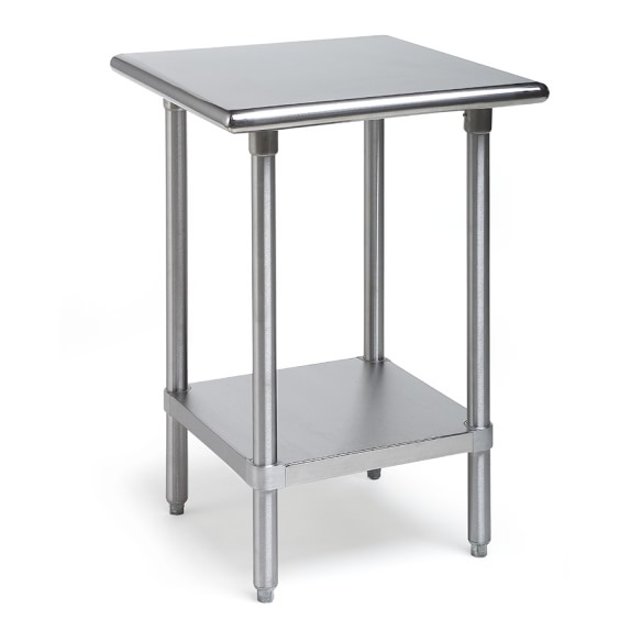 kitchen workbench island and table stainless steel workbenches williams sonoma small