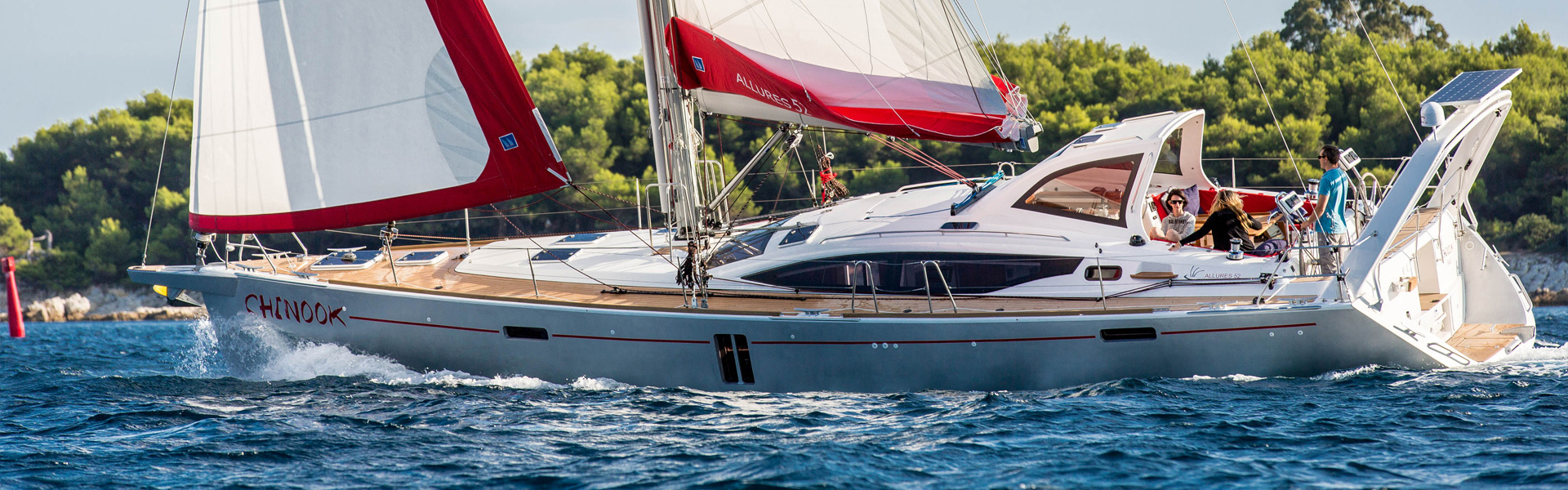 Williams And Smithells International Yacht Brokerage New Allures Agents