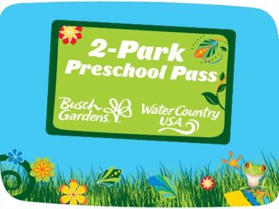 busch gardens free preschool pass