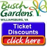 Busch Gardens Discounts and Promo Codes