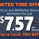 Discounted Admission to Nauticus and Battlehip Wisconson - Now Through February 28