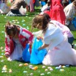 Annual Easter Egg Hunt at Lee Hall Mansion