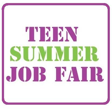 Teen Summer Job Fair - May 12 | Williamsburg Families