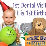 Did you know you should have your baby's first dental check up by their first birthday?