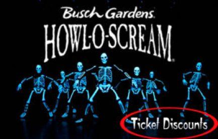 howl o scream busch gardens discounts