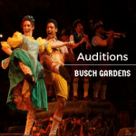 busch gardens auditions williamsburg