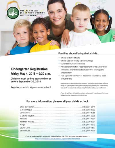 KindergartenRegistration-Wjcc