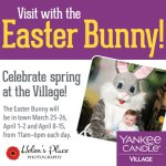 Take a Picture with the Easter Bunny at Yankee Candle – Photos by Helen's Place Photography – April 8-15