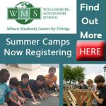 Williamsburg Montessori School Summer Camps  - Elementary Age