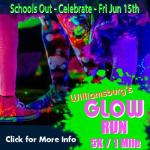 Glow Run Williamsburg 5k or 1 mile is June 15th in New Town – Check out the coupon code!! Learn more: