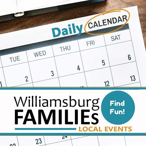 Williamsburg Calendar Of Events February 2019 Williamsburg Events Calendar | Williamsburg Families