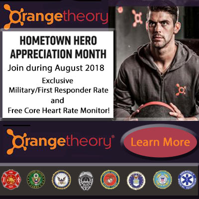 Orangetheory fitness williamsburg military first responders offer for Busch gardens first responders