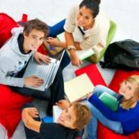 Teen writing lounge