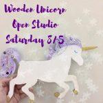 Wooden Unicorns and Mermaids'