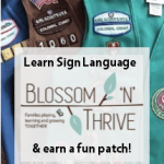 Blossom n' Thrive for Girl Scouts