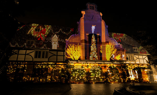 Christmas Town.Unofficial Guide To Busch Gardens Williamsburg Christmas