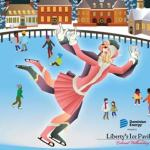 Liberty's Ice Pavilion Outdoor Ice Skating Ring in Merchants Square Williamsburg is Open for the 2017/2018 Season
