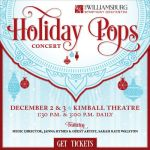 Get in the Holiday Mood – Get Your Tickets to the Williamsburg Symphony Orchestra's  Holiday Pops Concert – Grand Illumination Weekend