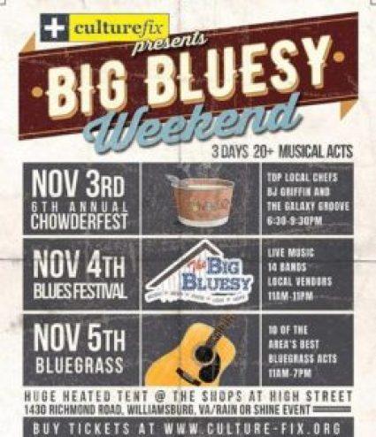 big bluesy weekend
