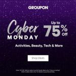 Cyber Monday Groupons - finally something for everyone on your list!