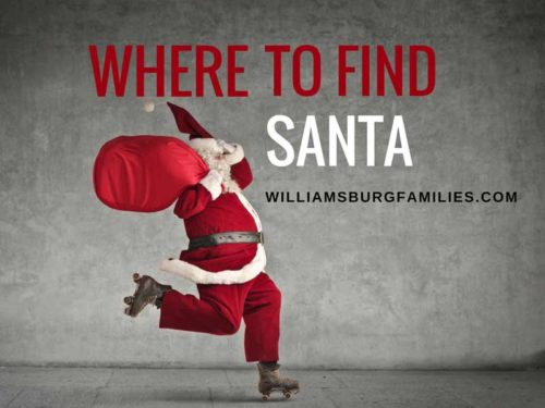 where to find santa in williamsburg yorktown and surrounding towns