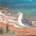 Seagull on the Shore, 4 Week Intermediate Session at Artfully Yours, starting Jan. 12, 2018