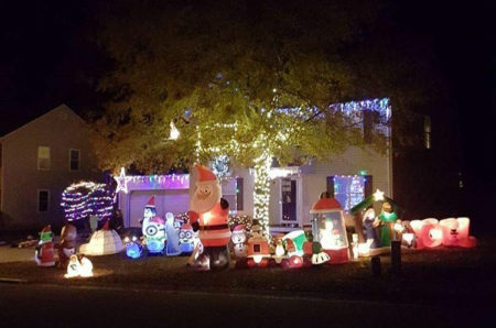 Longhill Subdivision Lights