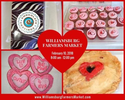 valentines williamsburg farmers market