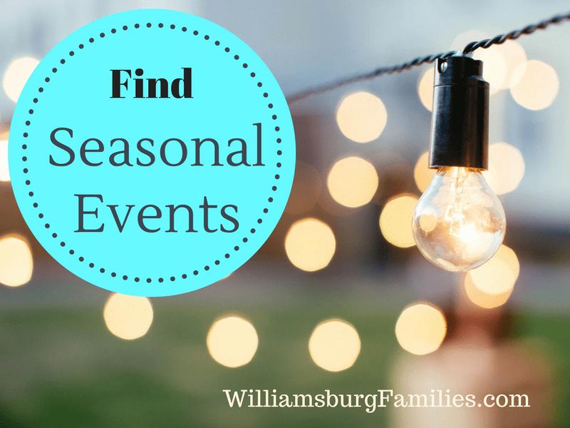 Williamsburg Parents Calendar Of Events February 2020 Seasonal Events Williamsburg | WilliamsburgFamilies.com