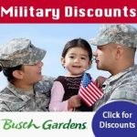Busch Gardens Waves of Honor, Admission for Veterans*, and Military Pass - more info