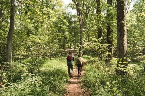 montpelier hike family travel