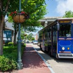 Yorktown's Free Trolley Operating Schedule 2021
