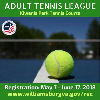 adult tennis williamsburg