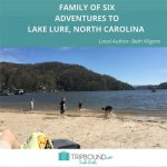 Just the Six of Us on the Road to Lake Lure, North Carolina - Check Out Our Simple Itinerary of Fun!