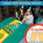Nessie turns 40! Loch Ness Monster Roller Coaster at Busch Gardens Celebrates 40 Years with .40 Cent Beers!