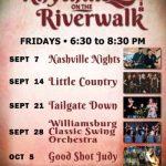 Rhythms on the Riverwalk