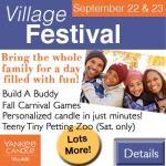 Yankee Village Festival - Sept. 22 & 23