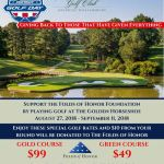 Patriot Golf Days - $99 Gold Course and $49 Green Course from Aug 27 - Sept 11th at Golden Horseshoe Golf Club at Colonial Williamsburg
