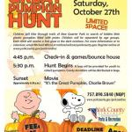 1st Annual Great Pumpkin Hunt at New Quarter Park
