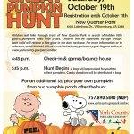 The Great Pumpkin Hunt at New Quarter Park